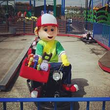 leisure islands park mascot handy manny picture canvey