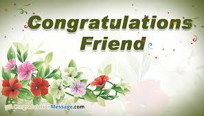 congratulations friend congratulationmessage