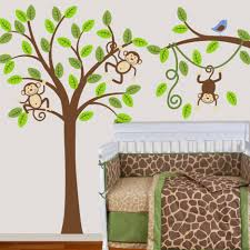 bedroom tree wall decals design on bedroom sfdark full size of bedroom baby nursery cheerful baby room decoration using white crib and brown green