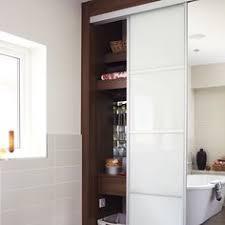 shower room with purple accessories bathroom design ideas