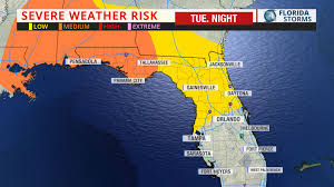 Panhandle Florida Map by Wind Damage U0026 Hail Risk Approaching Panhandle Uf Weather Center
