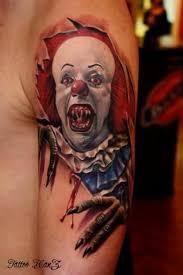 pinterest u0027teki 25 u0027den fazla en iyi clown tattoo fikri kafatası