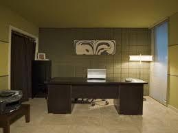 rectangular dark brown woodne desk on beige tile floor connected