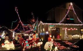 Winter Lane Light Flurries by Where To Find Sacramento U0027s Best Holiday Light Displays The