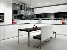 black and white kitchen ideas for perfect minimalist and modern