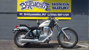 suzuki boulevard s40 white motorcycles for sale