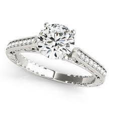 antique gold engagement rings diamond engagement rings in white gold 14k 18k