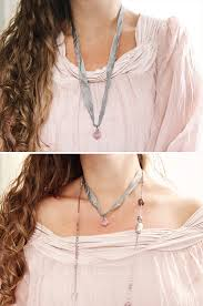 139 best ribbon necklaces images on pinterest ribbon necklace