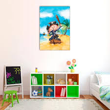 chambre enfant pirate tableau pirate decodeo