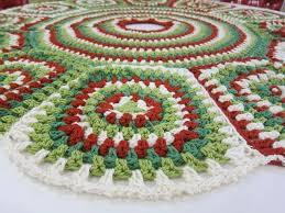 31 best crochet christmas tree skirts images on pinterest