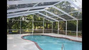all weather pool and patio screen and glass enclosures videos