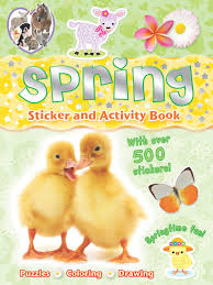 spring sticker and activity book book by gemma cooper official