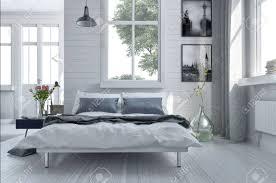 chambre haut de gamme canapé lit dans une chambre spacieuse haut de gamme lumière