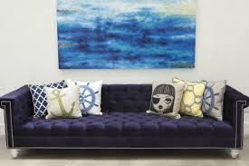 Navy Blue Tufted Sofa Navy Blue U2013 Furnished Souls