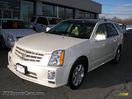 2008 cadillac srx for sale 2008 cadillac srx 4 v6 awd in white tricoat 214643