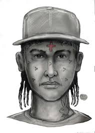 hispanic man with red cross forehead tattoo tries to kidnap 12