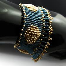 beaded woven bracelet images 37 best woven beaded bracelets images bead weaving jpg