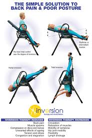 inversion table how to use use an inversion table therapy for back pain exercises for back