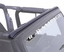 jeep soft top open amazon com rampage jeep 901004 windshield channel automotive