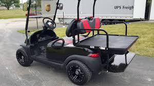 black on black custom club car precedent golf cart youtube