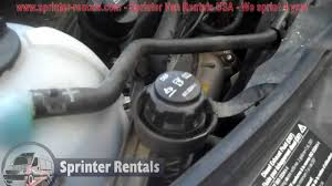how to fill def fluid on a sprinter van refill ad blue to your