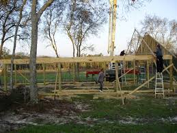 How To Build A Pole Barn Building by Pole Barn Construction Basics