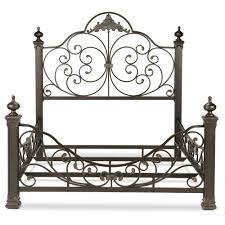 king baroque metal bed by fashion bed group wolf and gardiner