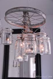 How To Mason Jar Chandelier Diy Vintage Looking Mason Jar Chandelier Shelterness