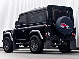 land rover defender matte black land rover defender harris tweed edition by a kahn design