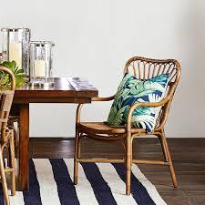 st martin rattan dining armchair williams sonoma