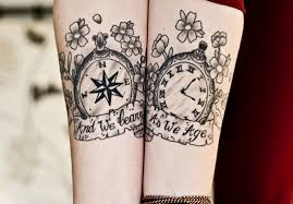 clock wrist tattoo tattoo love