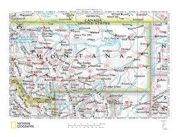 Montana Map Usa by Missouri River Drainage Basin Landform Origins In Montana Usa