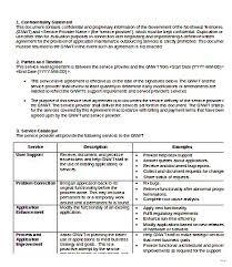service level agreement template example splendid u2013 studiootb