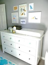 Changing Table And Dresser Set Grey Changing Table Dresser Wide Dresser Topper Set Pottery