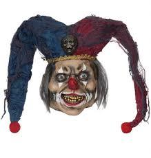 jesters mask deluxe deranged jester mask item bm470 karnival costumes