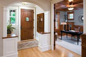 wholesale home interior white trim brown doors white wainscoting with wood trim arch entry
