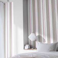 papier peint castorama chambre papier expansé sur intissé rayures gris castorama chambre