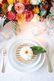 wedding plate settings creative wedding place settings mywedding
