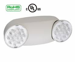 rechargeable light for home home indoor led emergency exit light standard round head ls