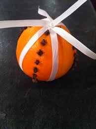 a craft in the life orange and clove pomander a year in the life