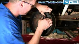 Old Ford Truck Brake Parts - how to install replace rear drum brake wheel cylinder gm truck