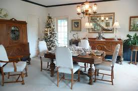 dining room xmas table decorations with crown molding also wall