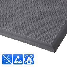 tapis anti fatigue pour cuisine tapis industriel protection incendie b1 gris tapistar fr
