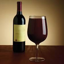 glass of wine the full bottle wine glass hammacher schlemmer