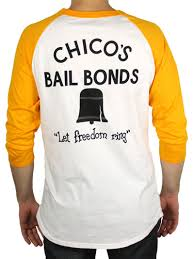 chico s chico s bail bonds shirt the bad news bears