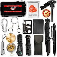 bracelet survival kit images Emergency survival kit outdoor gear 15 in 1 self defense jpg