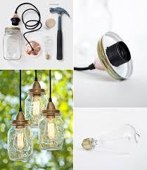 Glass Jar Pendant Light How To Make Mason Jars Pendant Lamp Diy U0026 Crafts Handimania