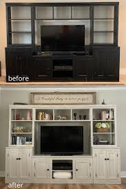 can i use chalk paint to paint my kitchen cabinets how to chalk paint an entertainment center