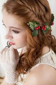 christmas hair accessories christmas wedding gifts christmas hair clip 2228736 weddbook
