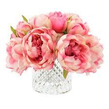 Peonies Bouquet Peony Artificial Flowers You U0027ll Love Wayfair